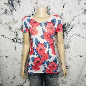 INC International Concepts Floral Roses Shirt